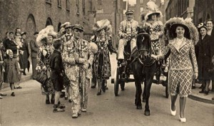 Pearly procession in Southwark